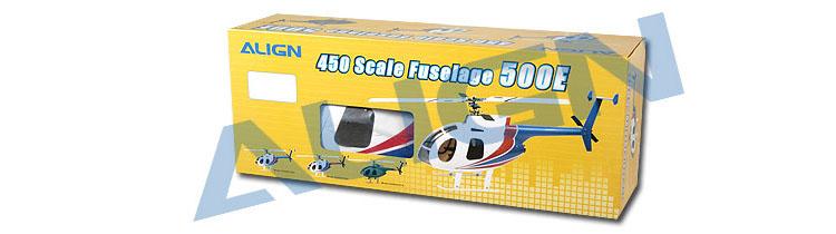 Align Hughes 500E Scale Fuselage KZ0820105A | Live-Hobby de
