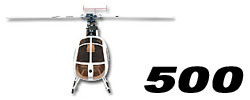 Scale Fuselage for 500 size Heli