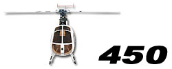 Scale Fuselage for 450 size Heli