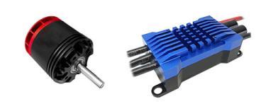 Brushless ESC & Motors