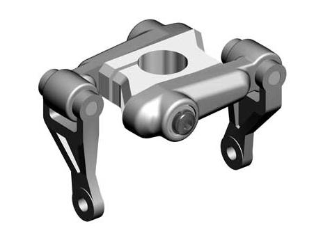 Mikado LOGO 400 / 600 TS-Mitnehmer für Rigidkopf, 10mm Rotorwelle