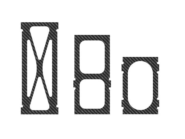 Mikado LOGO 800 XXTREME Vertikale CFK Chassis Rahmen