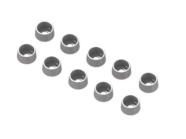 Mikado LOGO 480 / 800 Alu-Schraubenhalter für Innensechskantschrauben M2,5