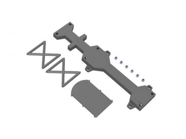 Mikado LOGO 480 XXTREME Rahmenteile Chassis