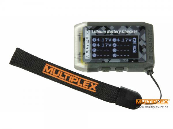 Multiplex LiPo Checker & Modellfinder