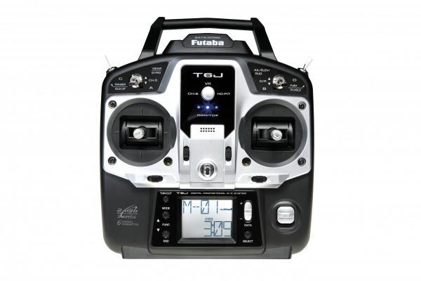 Futaba T6J 2,4 GHz S-FHSS + Empfänger R2006GS