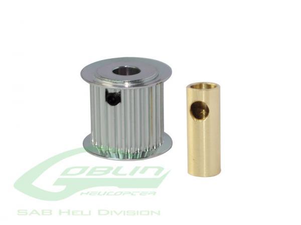 SAB Goblin 19mm Riemenscheibe Motor 20 Zähne 6/8 mm # H0175-20-S