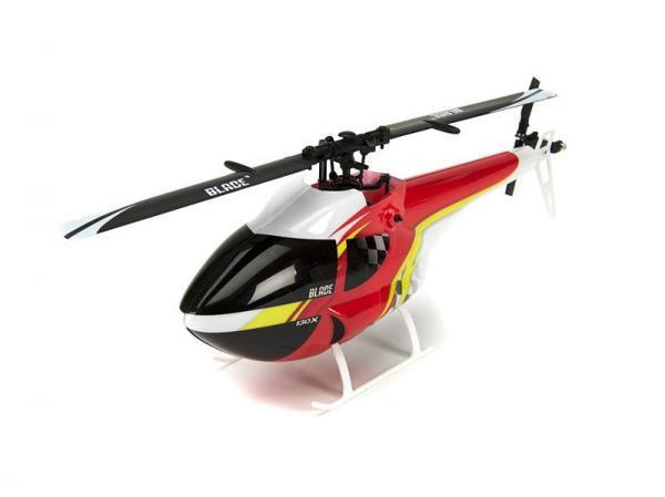 Blade 130X FAI Canopy Red / Black / Yellow
