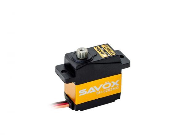SAVÖX Digital Servo SH-0263MG mit Metall - Getriebe