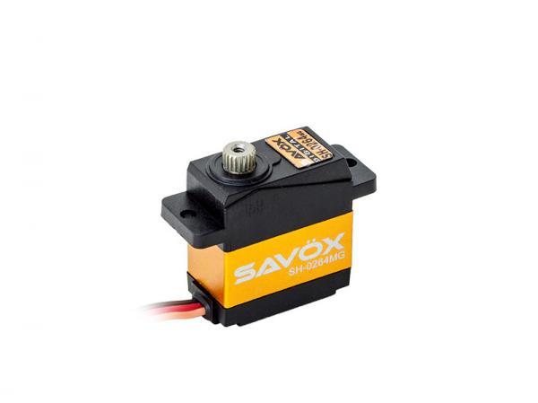 SAVÖX Digital Heck Servo SH-0264MG mit Metall - Getriebe