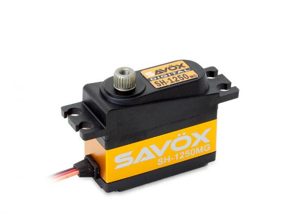 SAVÖX Digital Servo SH-1250MG mit Metall - Getriebe