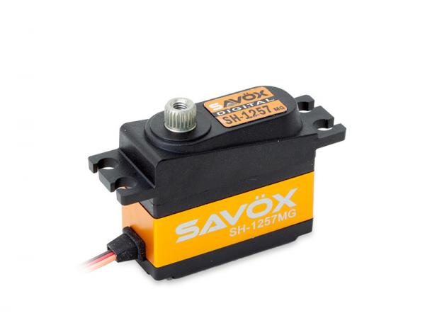 SAVÖX Digital Heck Servo SH-1257MG mit Metall - Getriebe