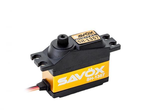 SAVÖX Digital Heck Servo SH-1357 mit Kunststoff - Getriebe