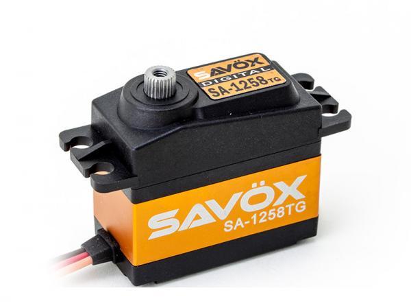 SAVÖX Digital Servo SA-1258TG mit Titanium - Getriebe