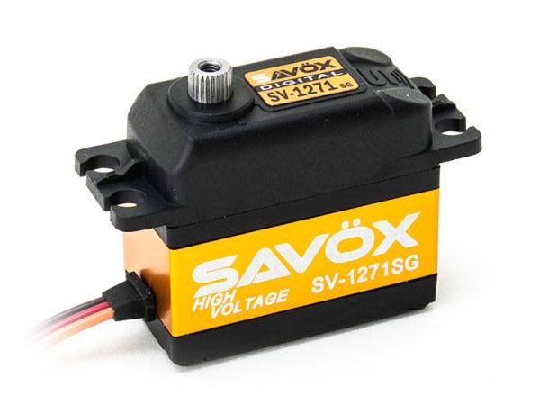 SAVÖX Digital HV Servo SV-1271SG mit Stahl - Getriebe