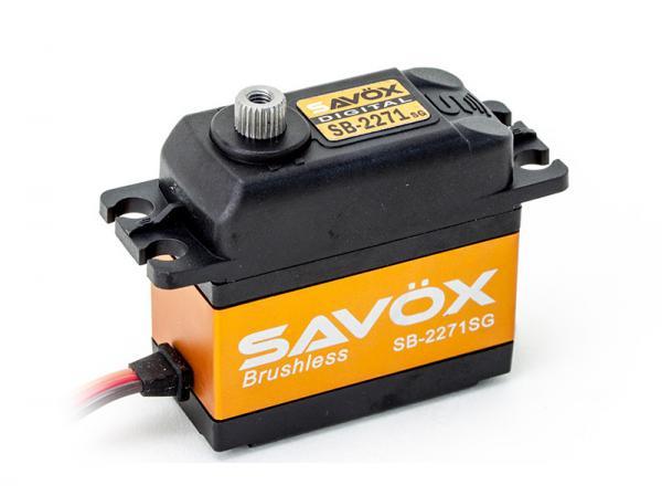 SAVÖX Digital Brushless HV Servo SB-2271SG mit Stahl - Getriebe
