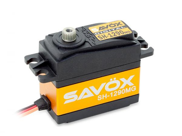 SAVÖX Digital Heck Servo SH-1290MG mit Metall - Getriebe