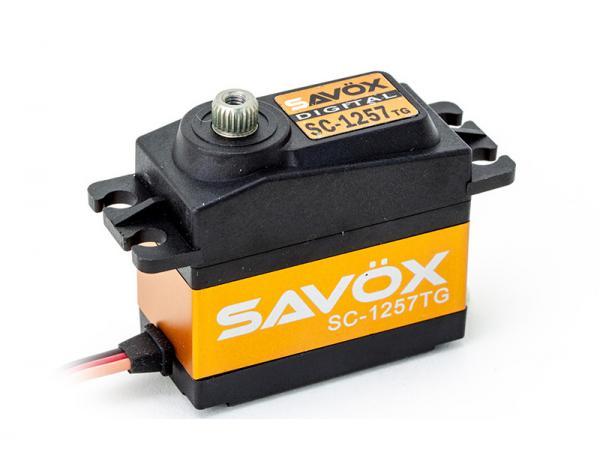 SAVÖX Digital Servo SC-1257TG mit Titanium - Getriebe