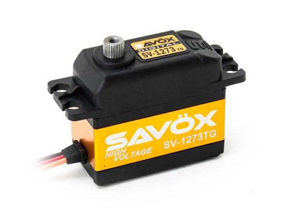 SAVÖX Digital HV Servo SV-1273TG mit Titanium - Getriebe
