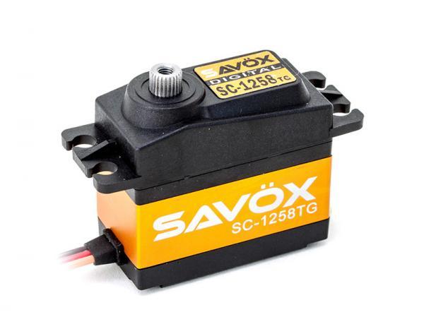 SAVÖX Digital Servo SC-1258TG mit Titanium - Getriebe