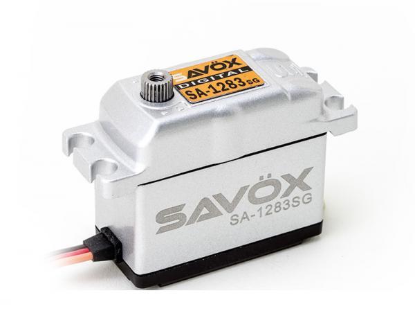 SAVÖX Digital Servo Metall Gehäuse SA-1283SG mit Stahl - Getriebe
