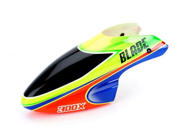Blade Blade 300 Fiberglass canopy green / orange