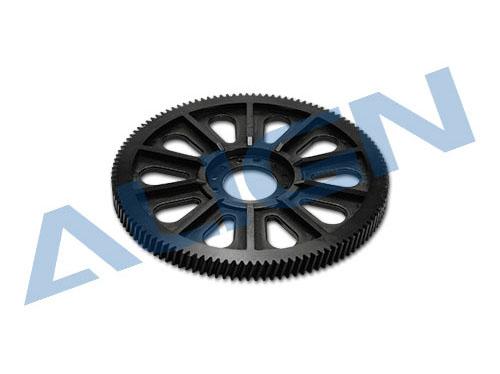 Align 600E PRO Hauptgetriebe CNC schrägv. M1 118Z schwarz