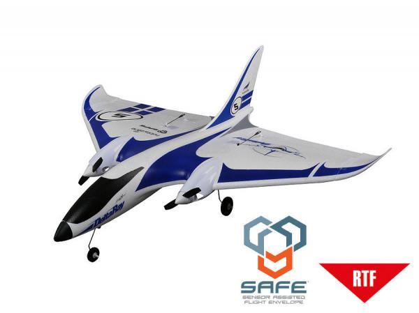HobbyZone DeltaRay RTF mit DX4e (Mode 2) und SAFE Technologie