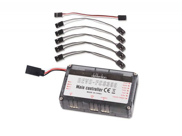 Walkera QR X350 Hauptplatine mit Altimeter DEVO-FCS350 V1,2