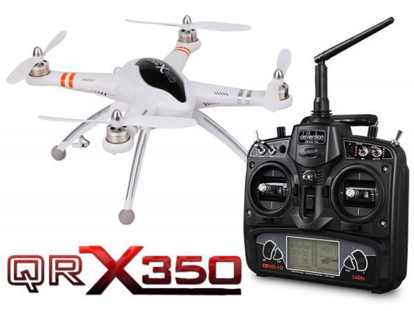 Walkera GPS QR X350 V1.2 RTF Quadcopter mit DEVO 10