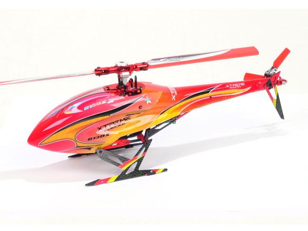 Xtreme Production 130X Haube und Heckverkleidung rot