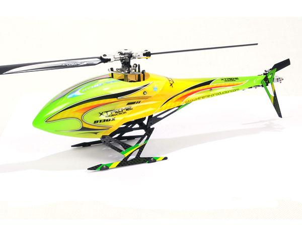 Xtreme Production 130X Haube und Heckverkleidung grün