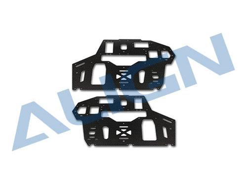 Align T-REX 550E PRO V2 Carbon Rahmen Seitenplatten 2mm