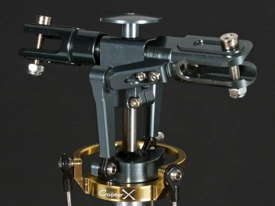 CopterX Alu 2 Blatt DFC Rotorkopf mit DFC Taumelscheibe für 450ger