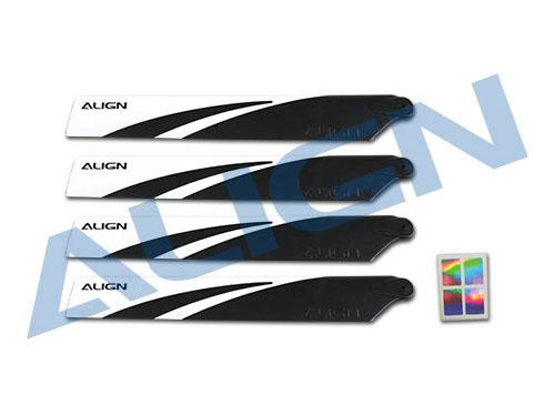 Align T-REX 150 Profi- Hauptrotorblätter schwarz 120mm