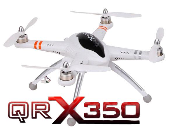 Walkera GPS QR X350 V1.2 ARF Quadcopter ohne Empfänger im Alukoffer