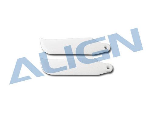 Align T-REX 250 Heckrotorblatt-Set weiss 37mm