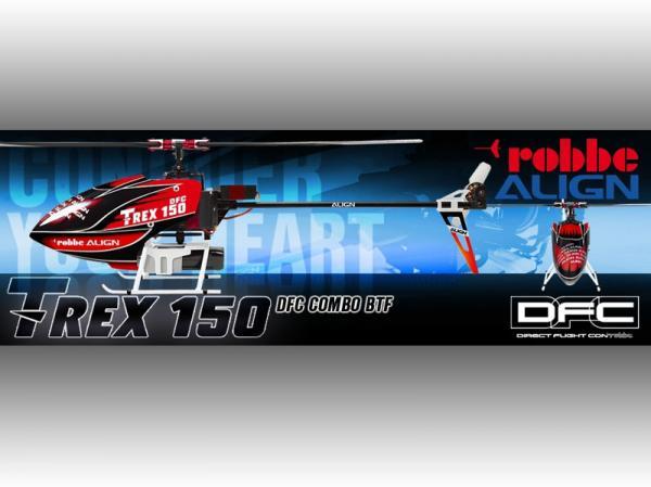Align T-REX 150 PLUS DFC BTF Super Combo - robbe Design