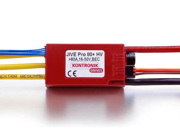 Kontronik Brushless Regle JIVE Pro 80+ HV