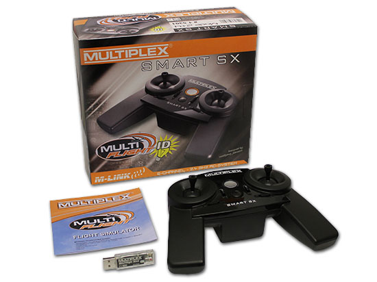 Multiplex MULTIflight PLUS Set mit SMART SX 6 Mode 2/4