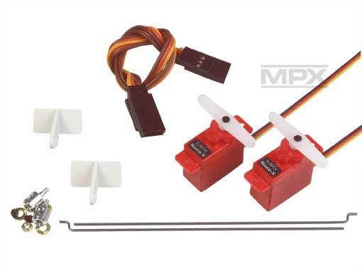 Multiplex Querruder Upgrade-Set FunMan