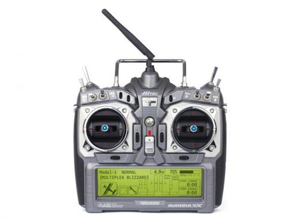 Hitec AURORA 9X 2,4 GHz Sender mit Maxima 6 (Deutsch)