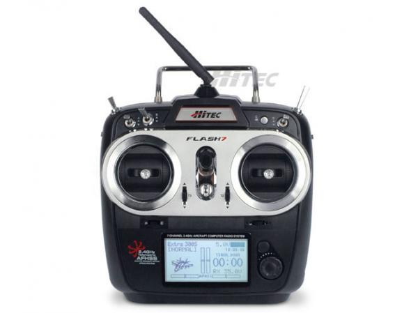 Hitec FLASH 7 2,4 GHz Sender mit RX Optima 7