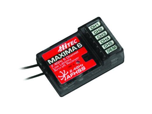 Hitec MAXIMA 6 2,4GHz - 6 Kanal Empfänger (High Response) für A9X