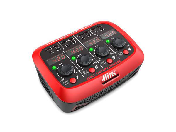 Hitec Multicharger X4 Micro 1S Ladegerät