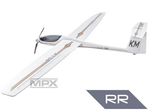 Multiplex Solius RR mit BL-Antrieb und Servos