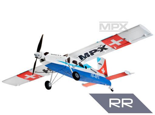Multiplex Pilatus PC 6 RR blau