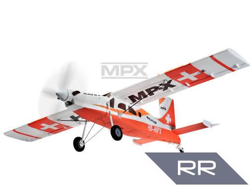 Multiplex Pilatus PC 6 RR rot
