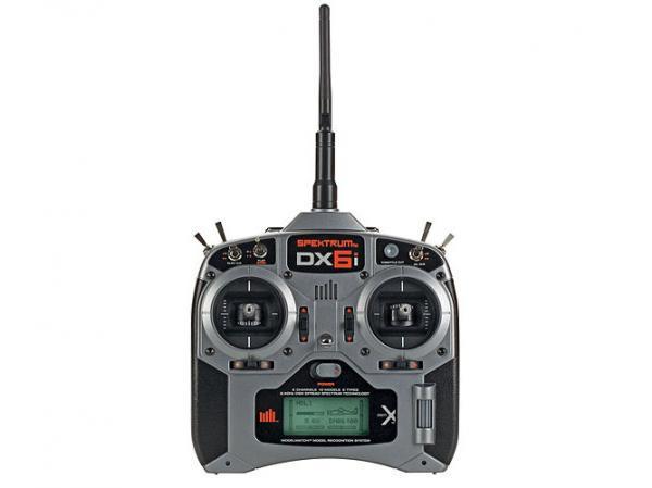 Spektrum DX6i 6-Kanal Full Range DSM2/DSMX 2,4GHZ Sender mit AR610