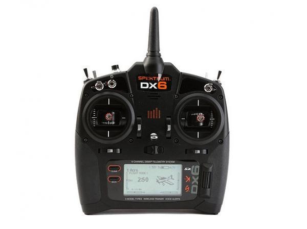 Spektrum DX6 Fernsteuerung 6 Kanal DSMX mit Empfänger AR610